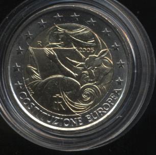 2€_007_Italien_2005_EU-Verfassung
