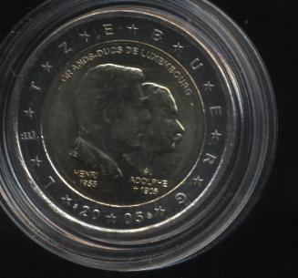 2€_008_Luxemburg_2005_Großherzog_Adolphe