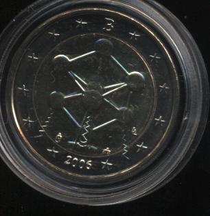 2€_011_Belgien_2006_Atomium