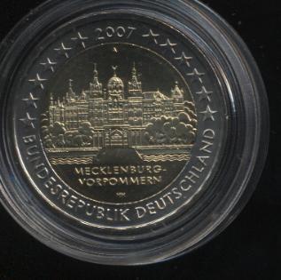 2€_021_Deutschland_2007_Schweriner_Schloß