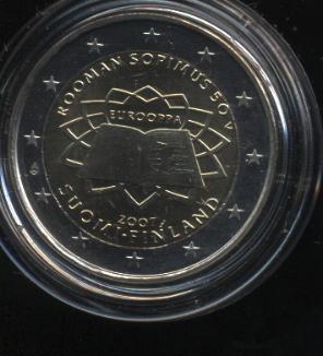 2€_031_Finnland_2007_Römische_Verträge