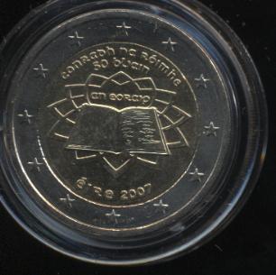 2€_034_Irland_2007_Römische_Verträge