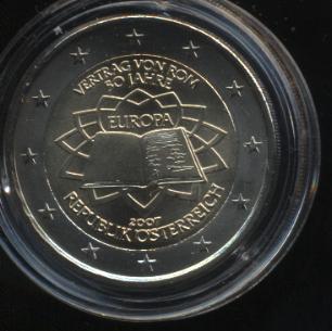 2€_039_Österreich_2007_Römische_Verträge