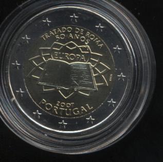 2€_040_Portugal_2007_Römische_Verträge