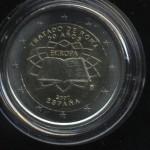 2€_042_Spanien_2007_Römische_Verträge