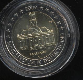 2€_079_Deutschland_2009_Saarland