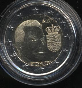 2€_089_Luxemburg_2010_Wappen_Henri