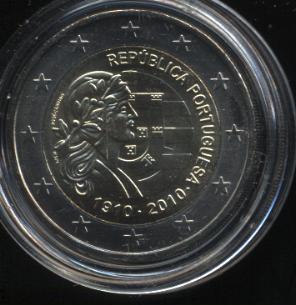 2€_099_Portugal_2010-100JAhre_Republik