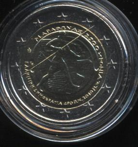 2€_100_Griechenland_2010_Marathon