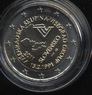 2€_103_Slowakei_2011_Visegrad