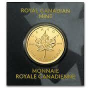 Anlage-Münze Kanada, 1Gramm Maple Leaf